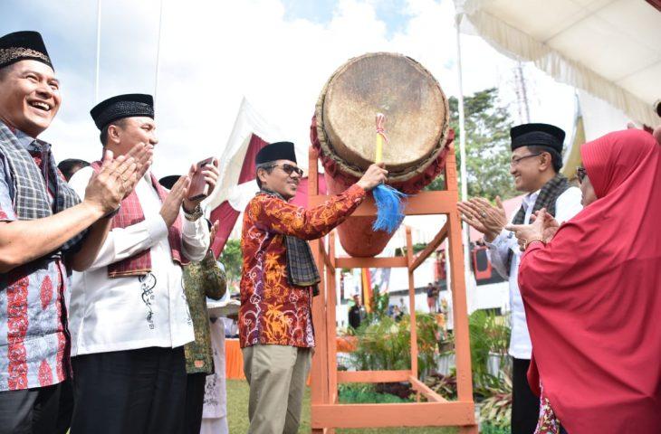 Pembukaan MTQN ke-39 Agam, Indra Catri Gembira Dapat Bertatap Muka dengan Qori dan Qoriah Terbaik