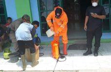 Tim Agam Siaga Covid-19 Lakukan Penyemprotan Disinfektan di Tanjung Mutiara