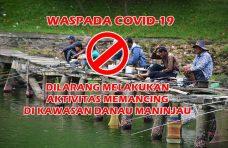 Tanjung Raya Hentikan Aktivitas Memancing di Danau Maninjau