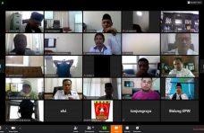 Musrenbang RKPD 2021 Kabupaten Agam Melalui Video Conference