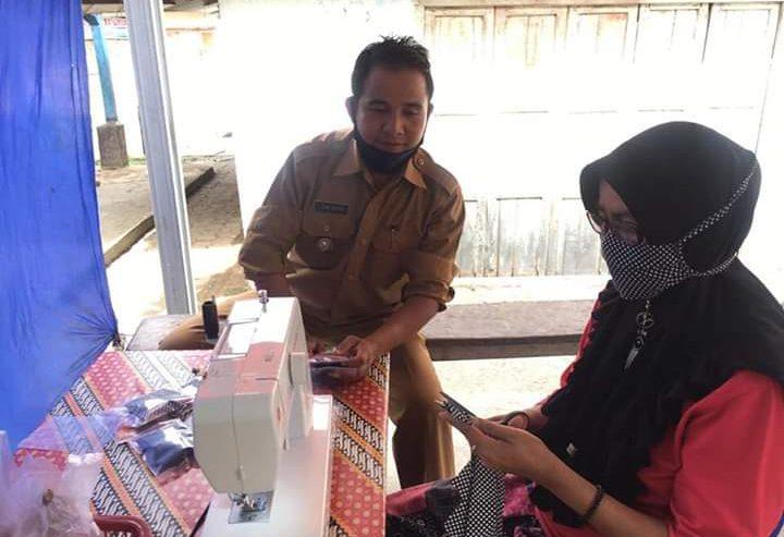 Masker Langka, Nagari Duo Koto Produksi Sendiri