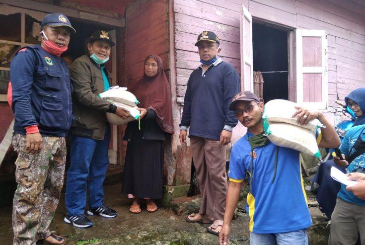 Nagari se-Ampek Koto Salurkan Bantuan Beras Gratis, Camat: Kualitasnya Dipuji Masyarakat