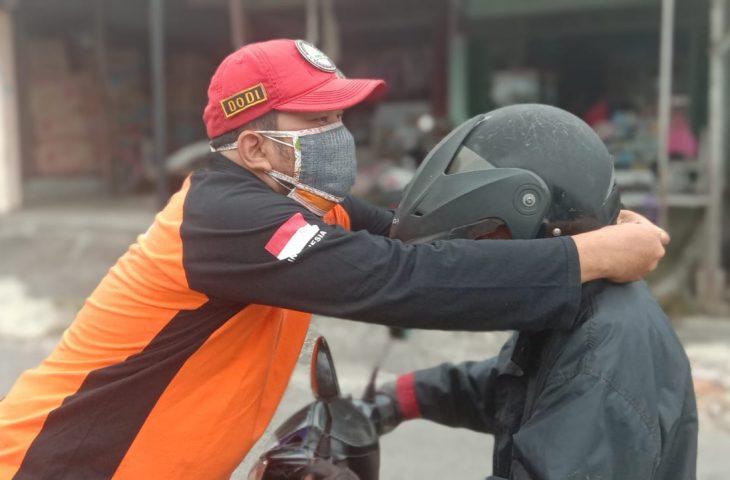 BTB Agam Distribusikan Ratusan Masker