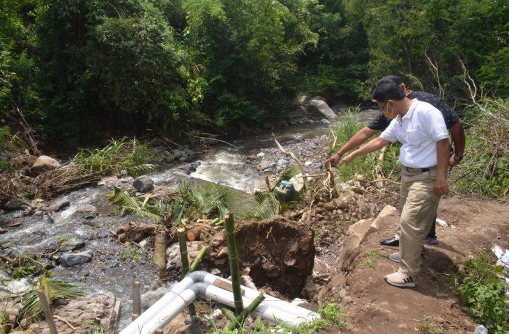 Tinjau Perbaikan Irigasi di Padang Tarok, Indra Catri Apresiasi Swadaya Masyarakat