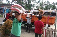Pendistribusian Beras Gratis di Palembayan Dilanjutkan Hari Ini