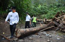 Bupati Agam Tinjau Banjir Bandang Galapuang