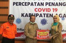 ASN Peduli Serahkan Bantuan Rp244 Juta untuk Penanganan Covid-19 di Agam