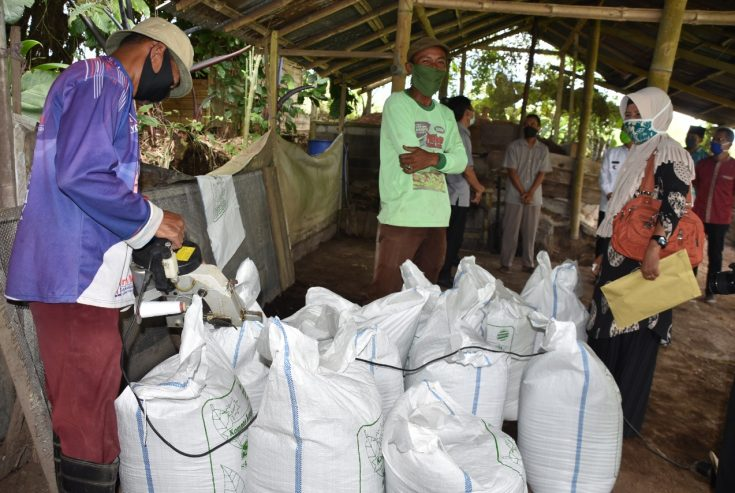 Penuhi Kebutuhan Petani Agam, Rumah Kompos S2 Taluak Mampu Produksi 28 Ton Pupuk Organik