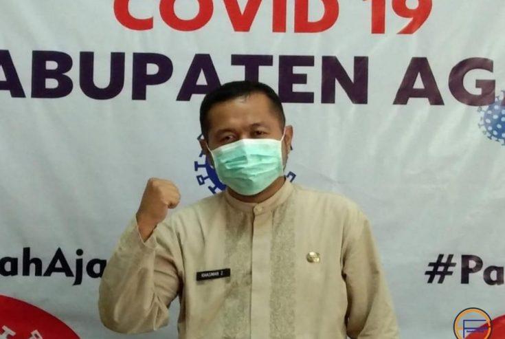 Lagi, Seorang Pasien Covid-19 Agam Dinyatakan Sembuh