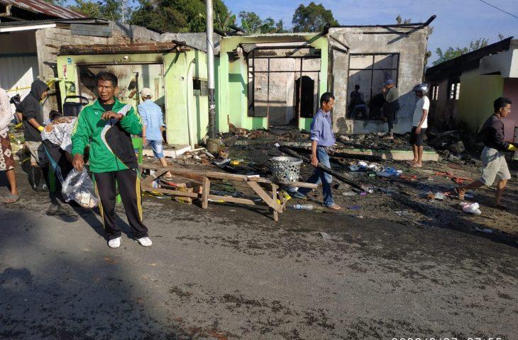 Kebakaran Kembali Terjadi di Agam, 2 Unit Rumah Hangus