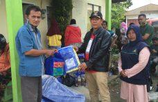 Dinsos Agam Salurkan Bantuan Tanggap Darurat bagi Korban Kebakaran