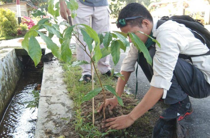 Rangkaian HUT Perpindahan Ibu Kota Agam- AMC Tanam Pohon Pelindung