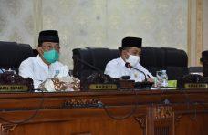 DPRD Agam Sampaikan Nota Penjelasan Ranperda Inisiatif