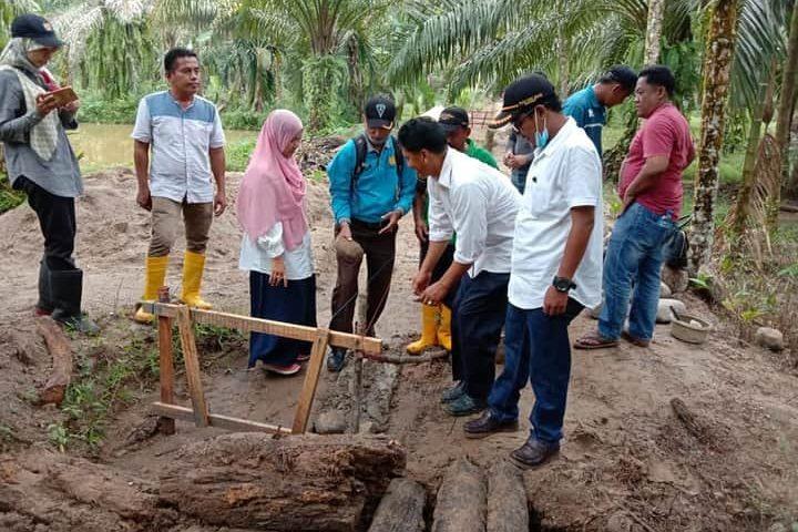 Program BWS Sumatera V, 506 Meter Irigasi Dibangun di Lubuak Simauang