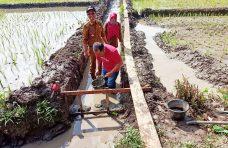 Pembangunan Irigasi di Garagahan Dimulai