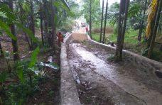 Pemnag Batukambiang Lanjutkan Pembangunan Jalan Nagari
