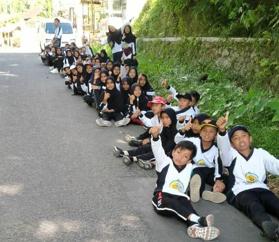 80 Santri Kampung Gajah Mati Lawang Tapak Tilas