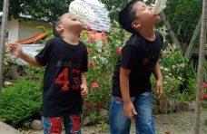 Cara TK di Agam Sambut Hari Kemerdekaan di Tengah Pembelajaran Daring