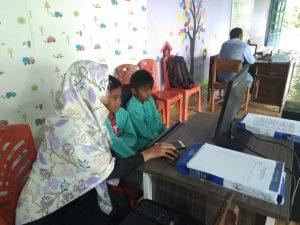 Rumah Pintar Tunas Muda Nagari Duo Koto Ramai Dikunjungi