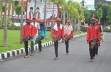 8 Pelajar Terpilih Jadi Anggota Paskibra Kabupaten Agam