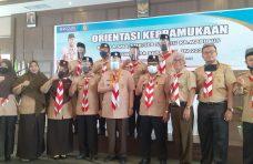 Ketua Kwarda Sumbar Nasrul Abit Buka Orientasi Kepramukaan Bagi Kamabigus