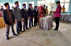 Camat Palembayan Lantik Anggota Bamus Nagari Tigo Koto Silungkang