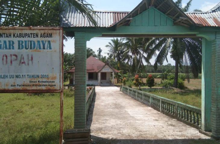 Topah, Bukti Sejarah Perkembangan Islam di Minangkabau