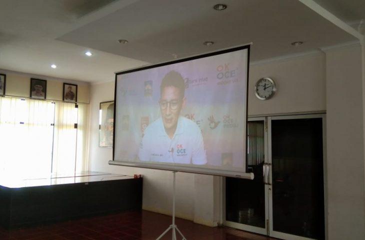 Sandiaga Uno Puji Strategi Pangan Indra Catri di Tengah Pandemi Covid-19