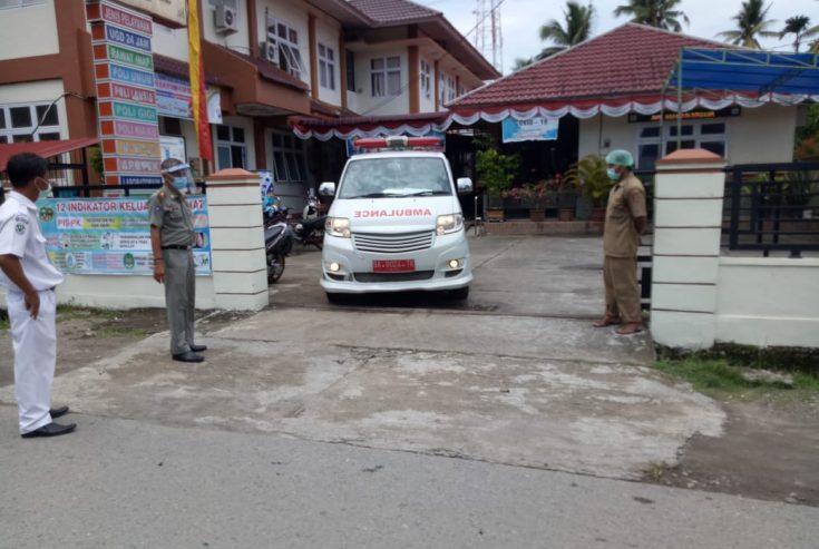 Kontak dengan Pasien Covid-19, Empat Warga Tanjung Mutiara Test Swab