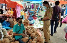 GTP2 Tanjung Raya Sosialisasikan Perda ABK di Pasar Tradisional