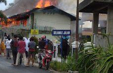 Asrama Putra MTI Kapau Terbakar