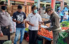 Tim Satgas Covid-19 Banuhampu Sosialisasikan Perda AKB