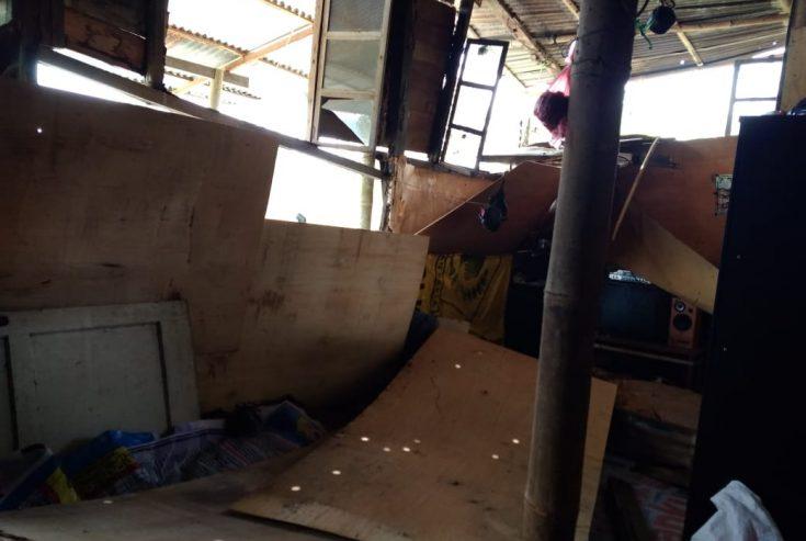 Rumah Warga Rusak Diterjang Angin Puting Beliung, Pemnag Koto Tangah Upayakan Perbaikan