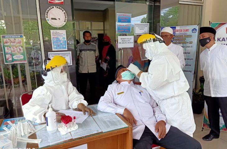 Pejabat Disdikbud Agam Positif Covid-19, Kemungkinan Terpapar Saat Hadiri Acara di Padang