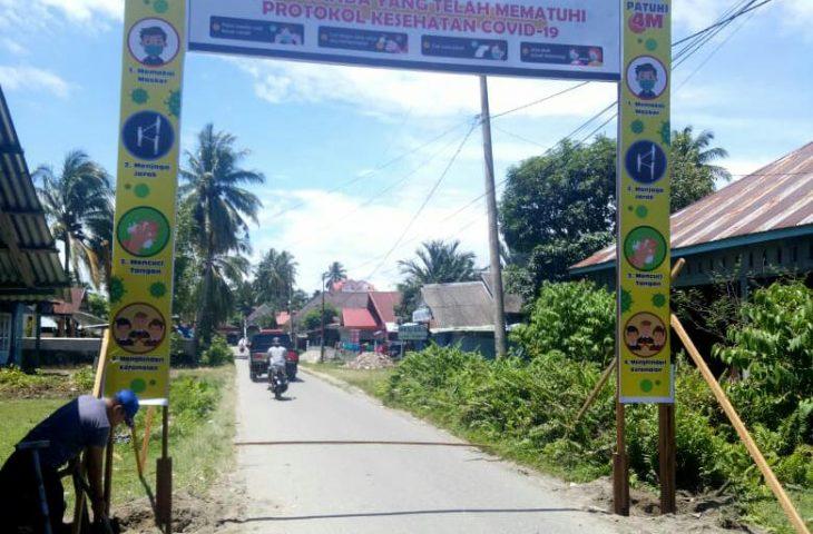 Pemerintah Kecamatan Tanjung Mutiara Terapkan Prokes Ketat di Pantai Pasia Tiku