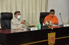 Pjs Bupati Agam, Benni Warlis Gelar Pertemuan dengan OPD dan Camat