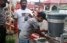 Cegah Penyebaran Covid-19, Pengurus Pasar Maninjau Perketat Protokol Kesehatan