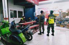 Tim Gabungan Kecamatan Ampek Angkek Patroli dan Sosialisasikan Prokes di Tempat Keramaian