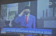 Pjs Bupati Agam Saksikan Upacara Peringatan Hari Kesaktian Pancasila Secara Virtual