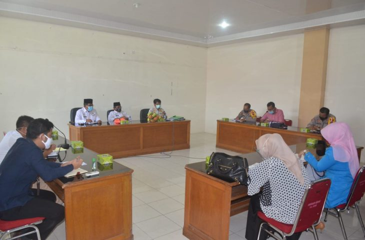 Tim Gabungan Agam Gelar Rapat Teknis Pelaksanaan Penindakan Perda AKB