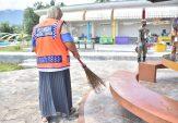 Tak Pakai Masker, Belasan Orang di Objek Wisata Tanjung Raya Diberi Sanksi Sosial