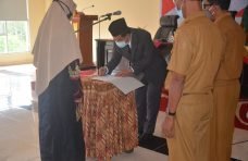 Satu Pejabat Fungsional Pranata Komputer Inspektorat Kabupaten Agam Dilantik
