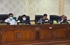 DPRD Agam Gelar Paripurna Pandangan Umum Fraksi Tentang RAPBD 2021