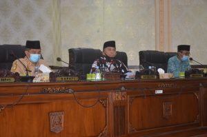 Bupati Agam Sampaikan Jawaban atas Pandangan DPRD Terhadap RP-APBD 2020