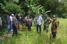 Pjs. Bupati Agam dan Dandim 03/04 Tinjau Calon Lokasi TMMD di Panampuang