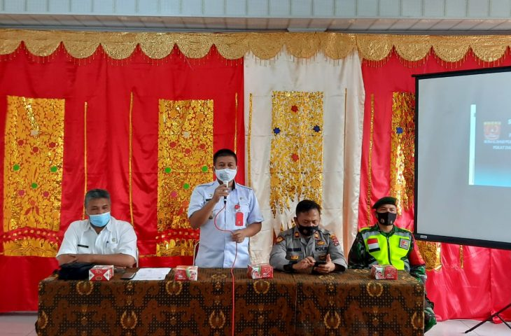 Camat IV Koto Sosialisasikan Perda AKB di Nagari
