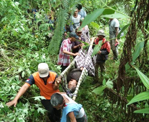 Warga Malalak Yang Hilang Ditemukan di Air Terjun Burai-Burai