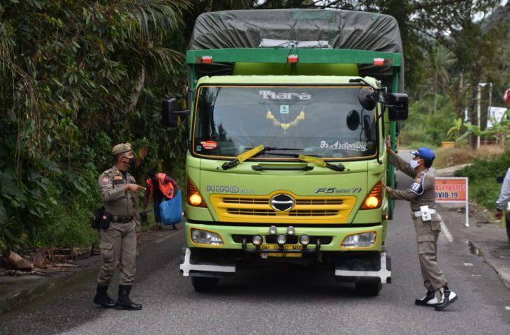 54 Orang Pengguna Jalan di Palupuah Terjaring Operasi Yustisi