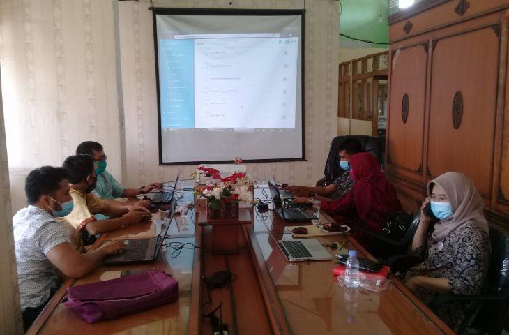 DPMPTSP Kota Padang Belajar Penggunaan SiCANTIK ke Agam