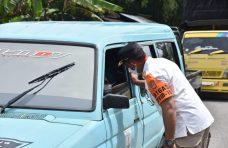32 Pengguna Jalan di Simpang Tanjuang Alam Terjaring Operasi Yustisi